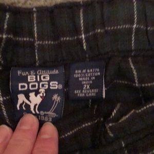 Other - Mens PJ pants Big Dogs brand